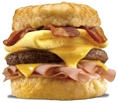 Hardee's Monster Biscuit. It's what's for heart disease!