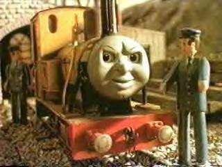 Duncan the steam engine and his punk rock attitude