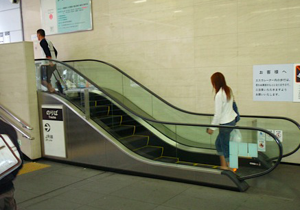 shortest-escalator